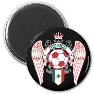 Mexico Futbol 2 6 Cm Round Magnet