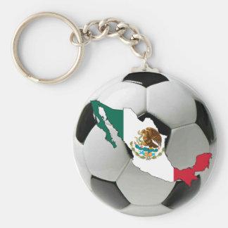 Mexico futbol key ring