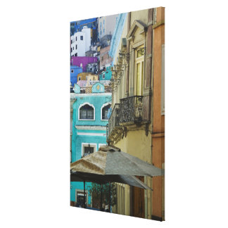 Mexico, Guanajuato. Densely packed assortment of Canvas Print