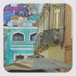 Mexico, Guanajuato. Densely packed assortment of Square Sticker