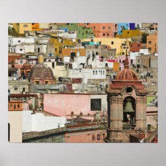 Mexico, Guanajuato State, Guanajuato. Templo de 2 Poster