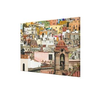 Mexico, Guanajuato State, Guanajuato. Templo de 2 Stretched Canvas Print