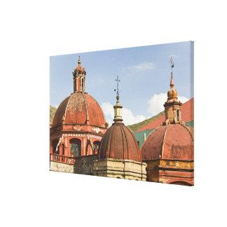 Mexico, Guanajuato State, Guanajuato. Templo de Canvas Print