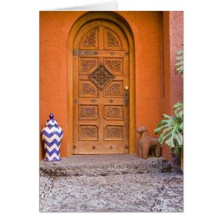 Mexico, Guanajuato state, San Miguel. Casa de la Cards
