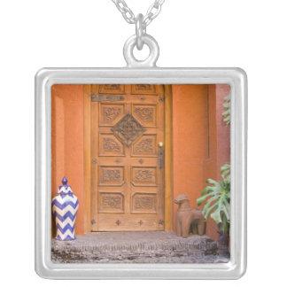 Mexico, Guanajuato state, San Miguel. Casa de la Silver Plated Necklace