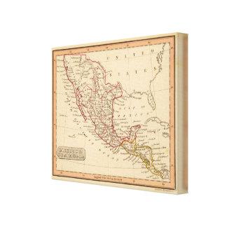 Mexico, Guatamala Canvas Print