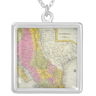 Mexico & Guatemala Silver Plated Necklace