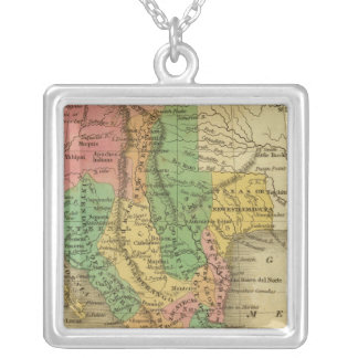 Mexico, Guatimala Silver Plated Necklace