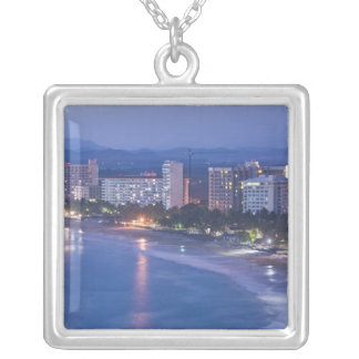 Mexico, Guerrero, Ixtapa. Ixtapa Hotels along Silver Plated Necklace