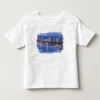 Mexico, Guerrero, Ixtapa. Ixtapa Hotels along Toddler T-Shirt