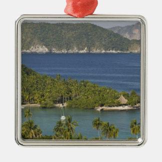 Mexico, Guerrero, Zihuatanejo. Playa Las Gatas- Christmas Ornament
