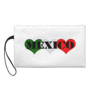 Mexico Heart Wristlet