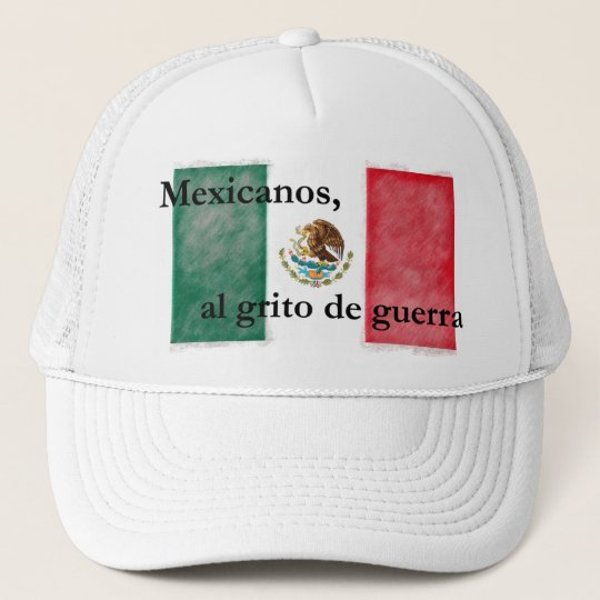 Mexico - Himno Nacional Mexicano Trucker Hat