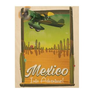 Mexico into adventure! wood wall decor