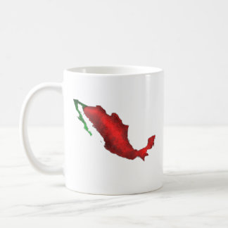 Mexico Is the Shape of a Chile Pepper Coffee Mug