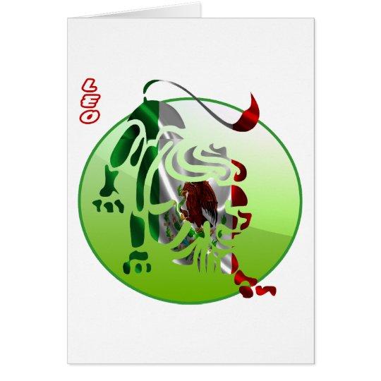 MEXICO LEO HOROSCOPES PRODUCTS CARD