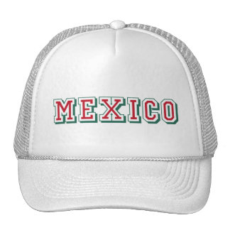 Mexico logo - for Mexico lovers worldwide Trucker Hats