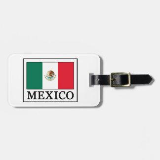 Mexico Luggage Tag