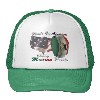 Mexico Made In America Using Mexican Parts Cap