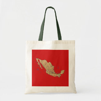 Mexico Map Bag