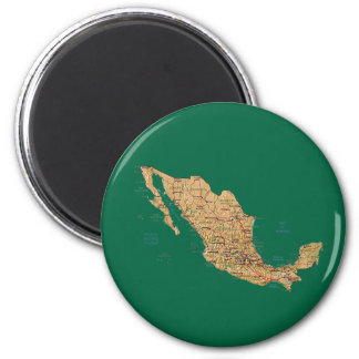 Mexico Map Magnet
