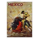 Mexico Matador Greeting Card