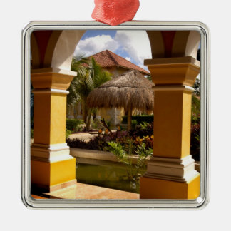 Mexico, Mayan Riviera, architecture at Iberostar Christmas Ornament