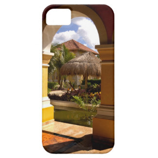 Mexico, Mayan Riviera, architecture at Iberostar iPhone 5 Case
