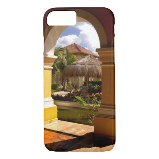 Mexico, Mayan Riviera, architecture at Iberostar iPhone 8/7 Case