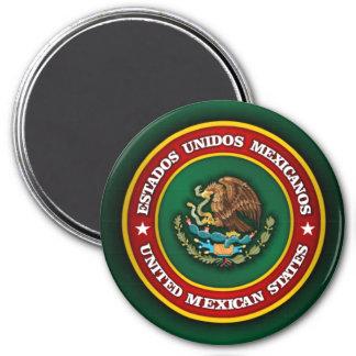 Mexico Medallion 7.5 Cm Round Magnet