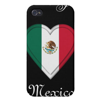 Mexico Mexican flag iPhone 4/4S Cases