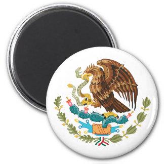 Mexico, Mexico 6 Cm Round Magnet