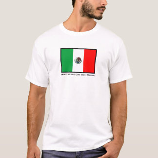 Mexico Mexico City West LDS Mission T-shirt