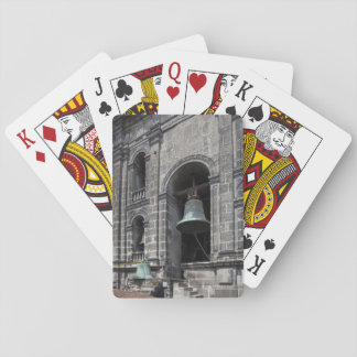 Mexico, Mexico City, Zocalo. The Bell Towers Playing Cards