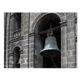 Mexico, Mexico City, Zocalo. The Bell Towers Postcard