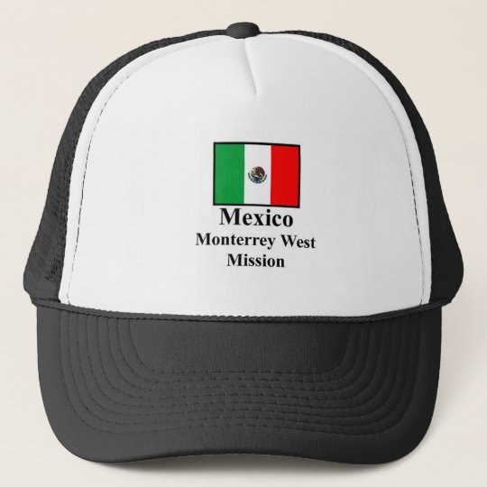 Mexico Monterrey West Mission Hat