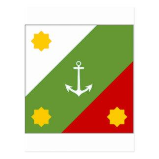 Mexico Naval Jack Postcard