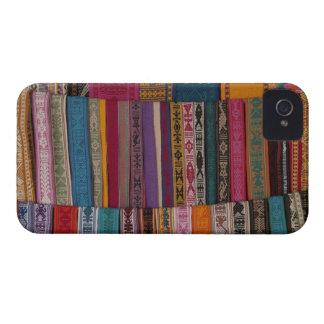 Mexico, Oaxaca Province, Oaxaca, woven belts on iPhone 4 Cover