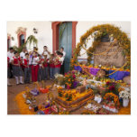 Mexico, Oaxaca Province, Ocotlan, students in Post Cards