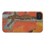 Mexico, Oaxaca, sand tapestry (tapete de arena) iPhone 4 Case-Mate Cases