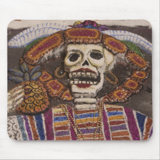 Mexico, Oaxaca. Sand tapestry (tapete de arena) Mouse Mat