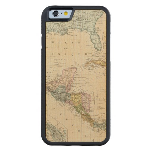Mexico, Panama, Central America Carved® Maple iPhone 6 Bumper Case