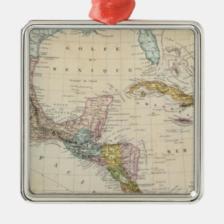 Mexico, Panama, Central America Christmas Ornament
