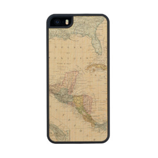 Mexico, Panama, Central America Carved® Maple iPhone 5 Slim Case