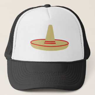 mexico party sombrero trucker hat