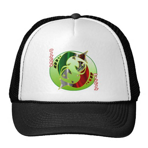 MEXICO PISCES HOROSCOPES PRODUCTS MESH HAT