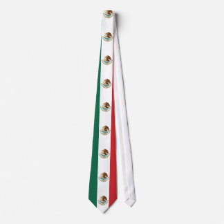 Mexico Plain Flag Tie