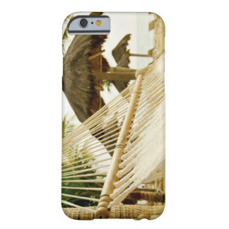 Mexico, Playa Del Carmen, hammock on beach Barely There iPhone 6 Case