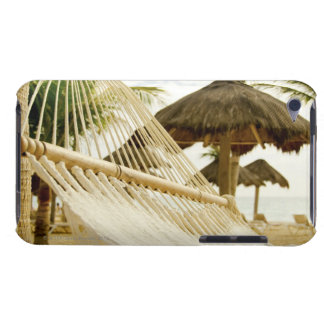 Mexico, Playa Del Carmen, hammock on beach Barely There iPod Cover