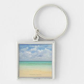 Mexico, Playa Del Carmen, seascape 2 Key Ring